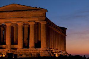 AGRIGENTO – Tempio Concordia notturno