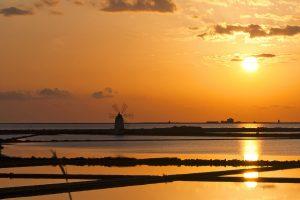 Marsala – Saltpans at sunset