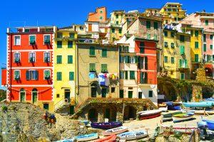 Cinque Terre_Riomaggiore houses