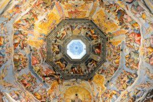 Florence_Cupola Brunelleschi_frescoes