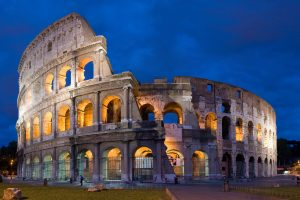 Rome_Colosseo by night