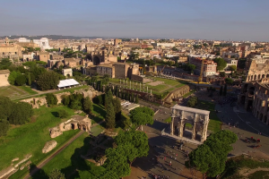 Rome_Palatine_Hill seen from above